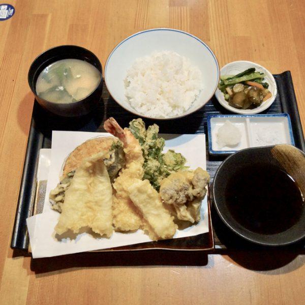 天ぷら定食(並)