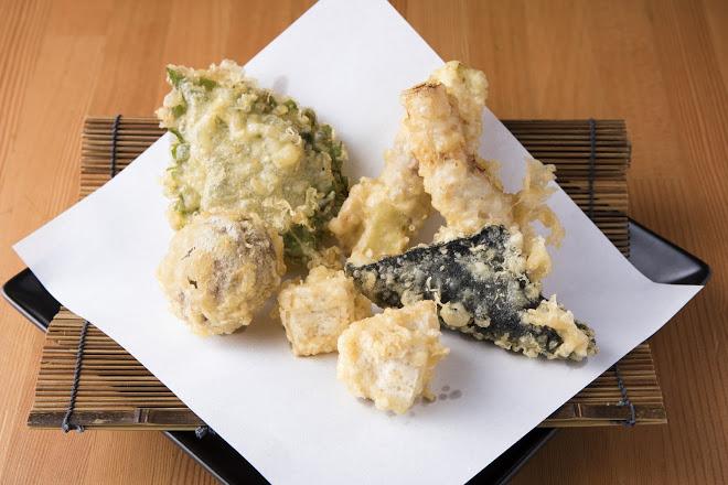 変わり揚げ天ぷらセット
