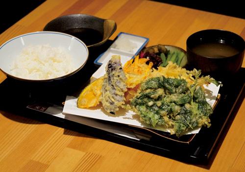やさい天ぷら定食