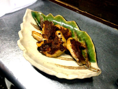 とり手羽の仙台味噌焼き